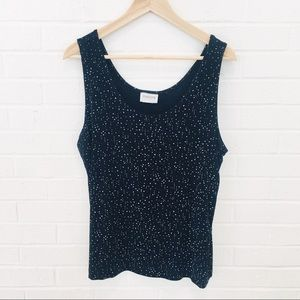🌈 Chico's Dressy Tank for Evening Party Event